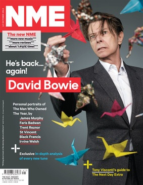 David Bowie NME magazine cover