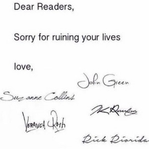 Dear Readers...