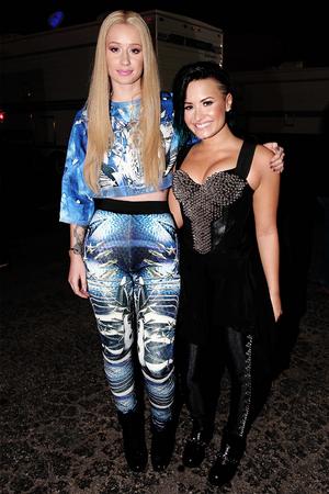Demi Lovato and Iggy