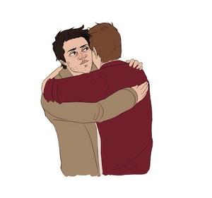 Destiel Hug