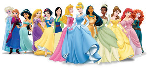 disney Princess with Anna & Elsa
