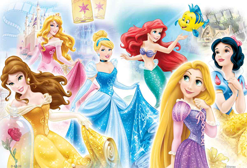 Disney Princess achtergrond titled Disney Princesses