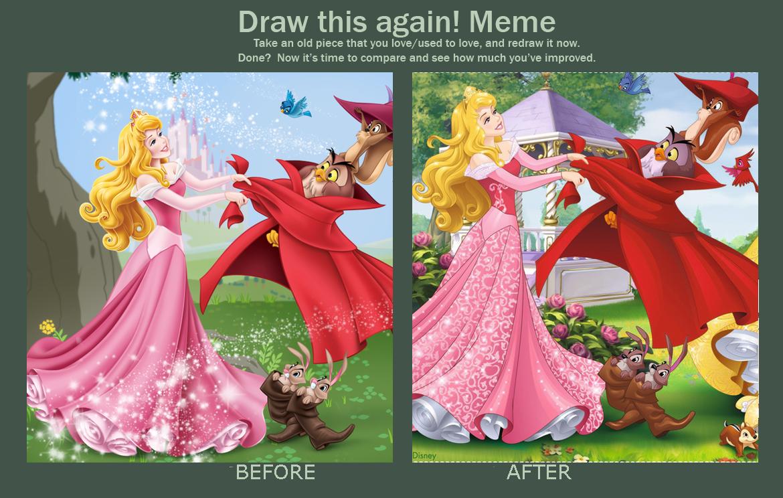 Disney Princess Afbeeldingen Draw This Again Meme Dp Style Hd