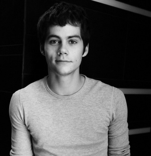 Dylan O'Brien karatasi la kupamba ukuta possibly with a jersey entitled Dylan O'Brien