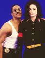 Eddie Murphy and Michael Jackson - michael-jackson photo
