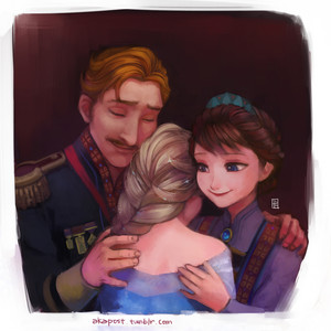 Elsa and her Parents