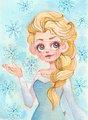 Elsa       - frozen fan art