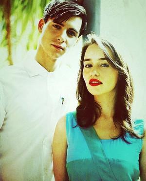 Emilia and Harry Lloyd