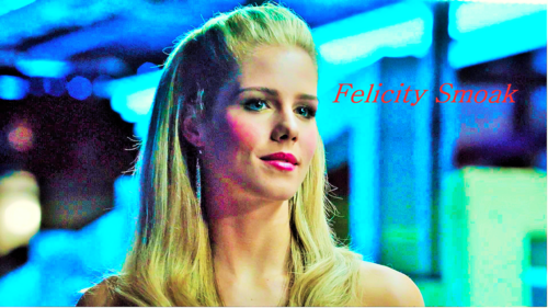 Emily Bett Rickards fond d'écran containing a portrait entitled Emily Bett Rickards as Felicity Smoak fond d'écran