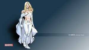 Emma Frost / White 皇后乐队 壁纸