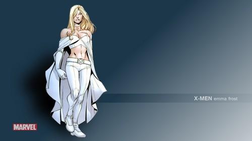 X-Men wallpaper entitled Emma Frost / White Queen wallpapers