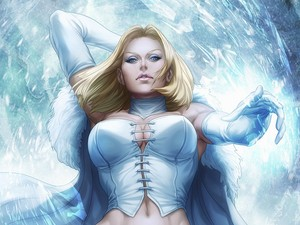 Emma Frost / White Queen پیپر وال