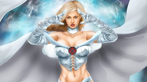 Emma Frost / White queen wallpaper