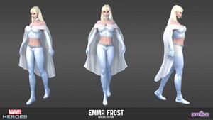 Emma Frost / White Queen karatasi za kupamba ukuta