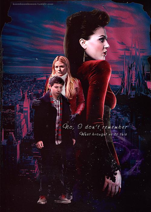 Emma, Henry and Regina
