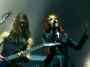 Epica in Paris (January 29th 2015)