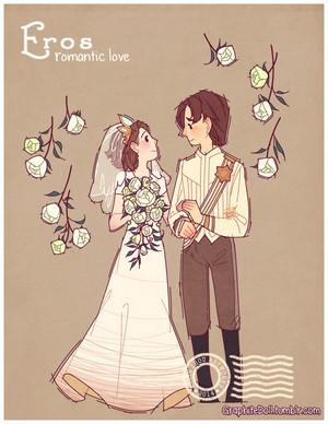 Eugene and Rapunzel Eros