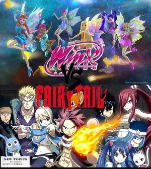 Fairy tail vs winx club