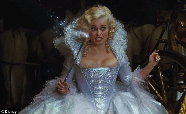 FairyGodmother-Helena Bonham Carter - Cinderella (2015) Photo ...