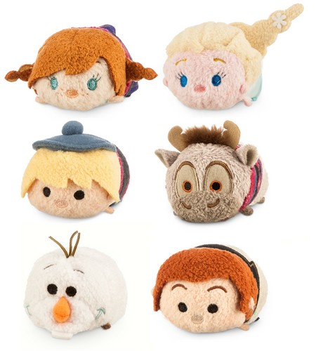 Frozen Hintergrund called Frozen Tsum Tsum