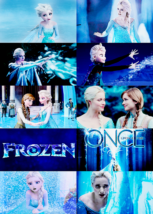 Frozen - Once Upon A Time Fan Art (38038719) - Fanpop | 500 x 700 png 739kB