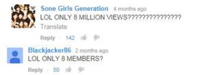 Funny Girls Generation コメント