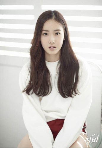 GFriend দেওয়ালপত্র possibly containing a portrait titled GFRIEND Season of Glass Teaser - SinB