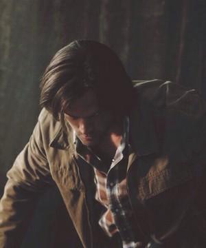 Gadreel possessing Sam Winchester