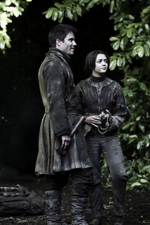 Arya Stark & Gendry