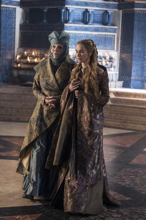 Olenna Tyrell & Cersei Lannister
