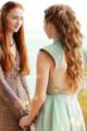 Sansa Stark & Margaery Tyrell - game-of-thrones fan art