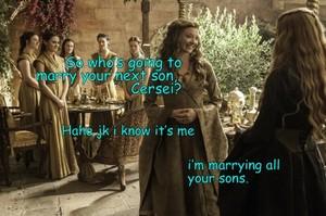 Margaery Tyrell & Cersei Lannister