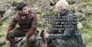 Podrick Payne & Brienne of Tarth