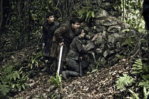 Gendry, Arya and Hot Pie