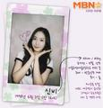 Gfriend official profiles SinB