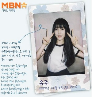 Gfriend official profiles Yuju