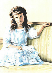 Grand Duchess anastasia Nikolaevna of Russia (June 18 [O.S. June 5] 1901 – July 17, 1918)
