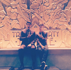 Grant and Brandon