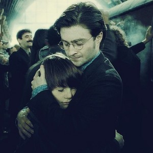 Harry and Albus Severus