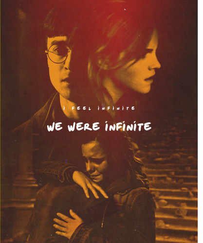 Harry and Hermione wallpaper containing anime entitled Harry