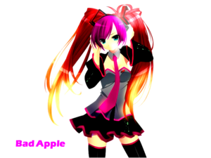 Hatsune Miku - Bad apel, apple