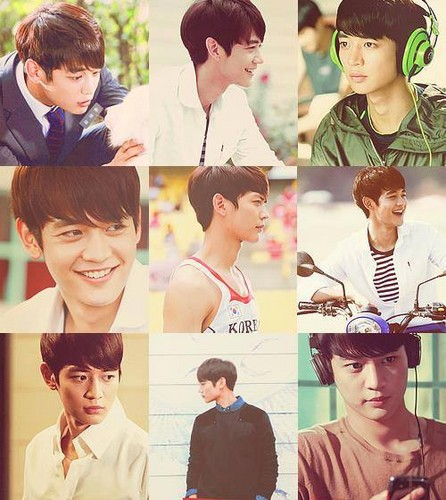 Choi Minho wallpaper called He looks so perfect, his hair , his smile <3