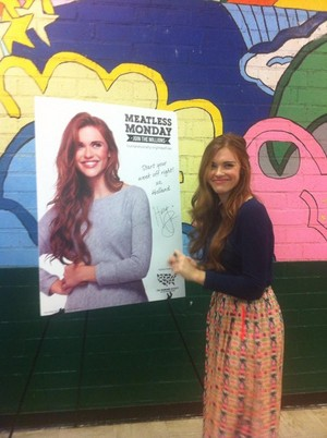 "Holland Roden : Launching of 'Meatless Monday"" (26/01/15)"