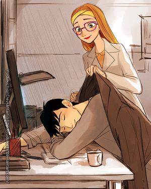 Honey and Tadashi