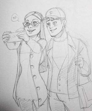 Honey and Tadashi