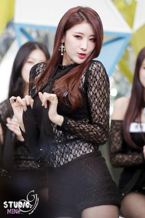 Hyuna @ MNet Countdown Begins