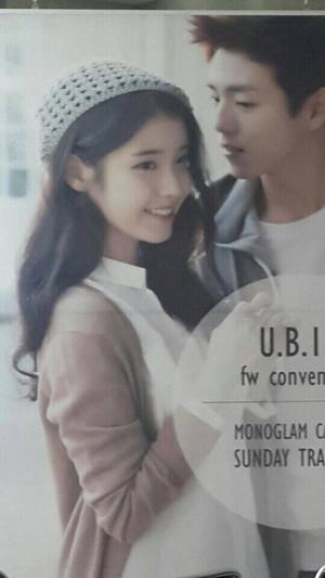 IU and Lee Hyun Woo's Unionbay ad