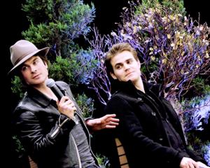 Ian and Paul Wesley