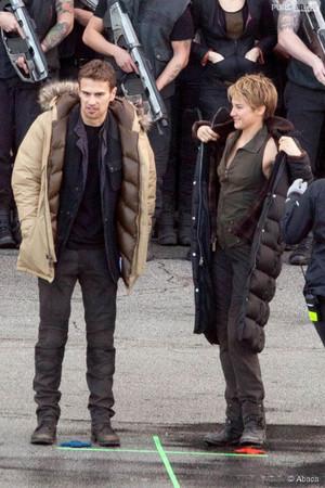 Insurgent - Behind scenes