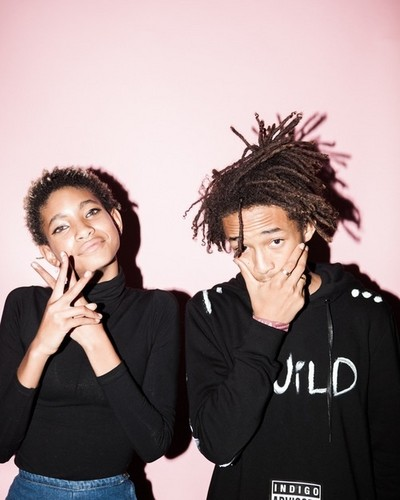 Jaden Smith Hintergrund entitled Jaden and Willow Smith
